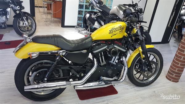 Harley-Davidson Sportster Xl 883 R Gialla