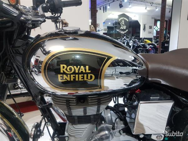 Royal Enfield Bullet 500 Classic Chrome Abs
