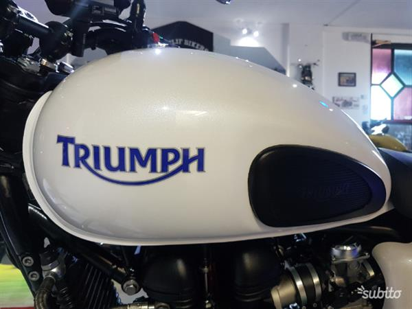 Triumph Bonneville 865 Se Bianco Perla