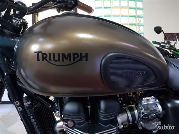 Triumph Scrambler 865 Bi-colore Limited Edition