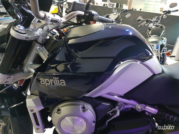 Aprilia Mana 850 Blu Elettrico