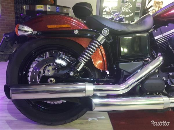 Harley Davidson Dyna Street Bob FXDBA Abs 1584 Candy Limited