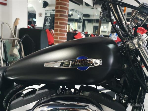 Harley-Davidson Sportster 1200 Custom Abs Full Black