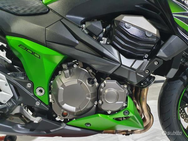 Kawasaki Z800 113 Cv Verde/Nera