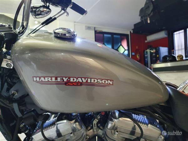HARLEY-DAVIDSON Sportster Xl 883 Custom Grey