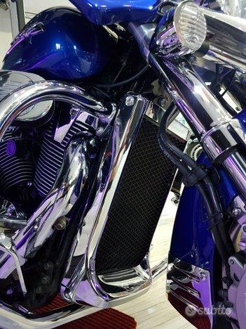 HONDA VTX 1800 Special Blue Of America