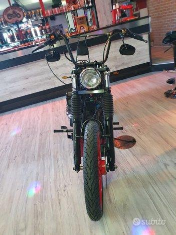 HARLEY-DAVIDSON SOFTAIL FXSTB NIGHT TRAINE 1450 SPECIALE