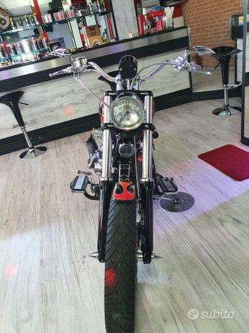 Harley- Davidson Fxcw Rocker Special Fire 260