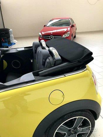 MINI Mini Cooper S Cabrio 1.6 Turbo Yellow (R57)
