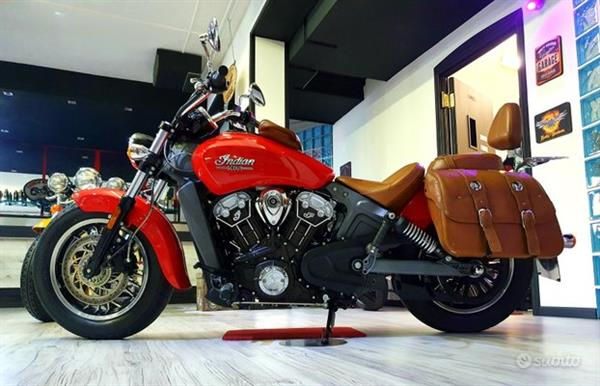 INDIAN SCOUT ROSSA FULL BROWN 100CV