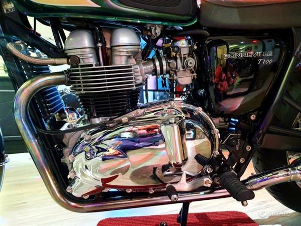 TRIUMPH Bonneville T100 Bi-Color Limited - 2003
