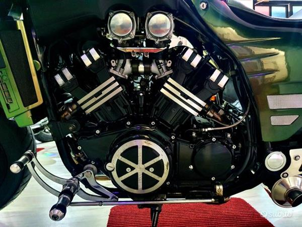 Yamaha Special Vmax 1200 Chamaleon Green