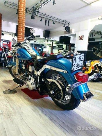 "Harley-Davidson FLSTC Softail Heritage 1340 Limited ""Aqua Blue"" FMI"