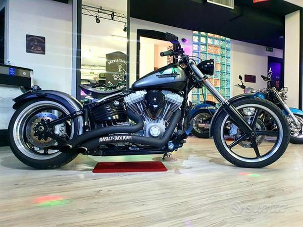 Harley-Davidson FXCW Softail Rocker 1584 Full Grey