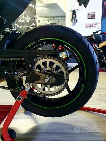 Kawasaki Z800 Bi-Colore Verde/Nera My 2013 SC-PROJECT