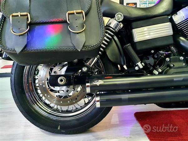 Harley-Davidson FXDB Dyna Street Bob 1584 Black