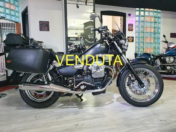 Moto Guzzi Nevada 750 Classic Full Grey - 2010